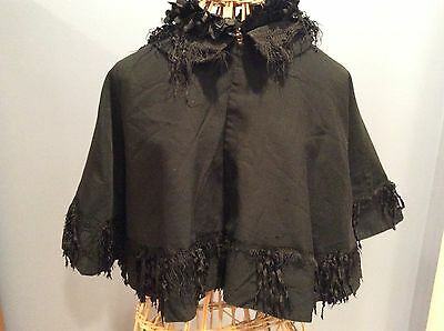 Authentic Victorian Wool Capelet