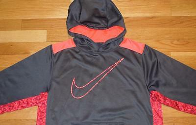 Authentic Nike Boys Hoodie Sweatshirt Hooded Size Xl Youth Kids Therma Fit