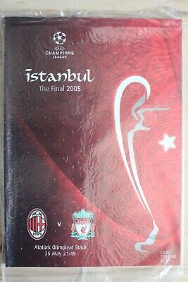 2005 Champions League Cup Final Programme *(Liverpool V Ac Milan)* (25/05/2005)