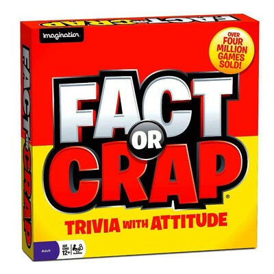 Fact or Crap Trivia Board Game NEW