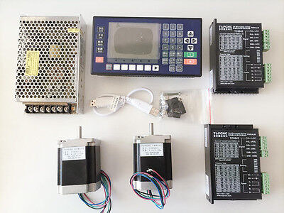 2 axis CNC controller kits for cutting, packing, welding,  feeding, drilling