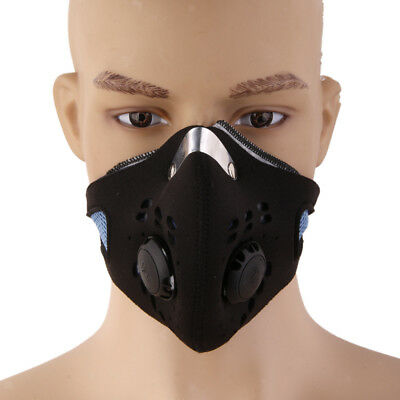 Super Anti Dust Cycling Bicycle Motorcycle Racing Ski Half Face Mask Filter