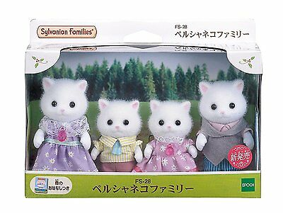 Sylvanian Families PERSIAN CAT FAMILY Epoch Japan Calico Critters