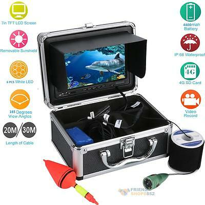 "7"" TFT HD 20/30M 1000TVL Finder Recorder Waterproof Fishing Camera Video Monitor"