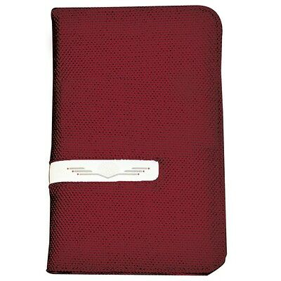 Deluxe Scorecard Holder - Red