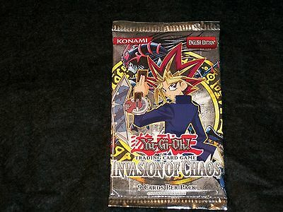 YU-GI-OH! BOOSTER PACK, INVASION OF CHAOS, Englische Ausgabe , OVP