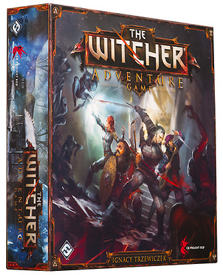 The Witcher Adventure Game - Board Game
