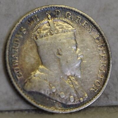 """1903 *Silver* Canadian Five Cents """"VF/XF"""" *Free S/H After 1st Item*"""
