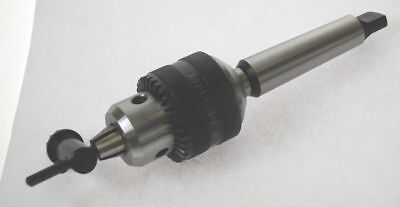2.5 - 16 mm Quality Drill Chuck on a 3 MT Morse Taper For Lathe   (Ref: 140640)
