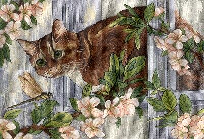 """/""""Rendezvous at the well/"""" Counted Cross Stitch Kit MP Studio HB-713"""