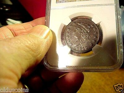 Rare 1812 Large Cent Grade Certified Ngc Au55 A True Historical Keeper