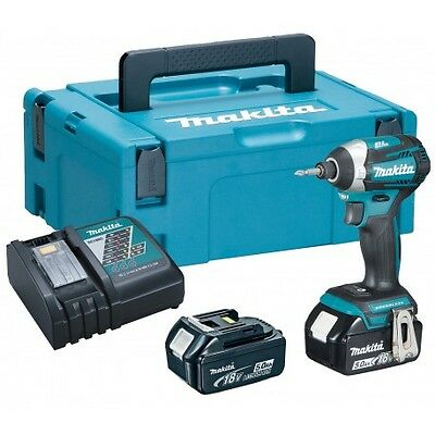 Visseuse à chocs MAKITA DTD154RTJ à batteries LXT 18V (2 x 5,0Ah)