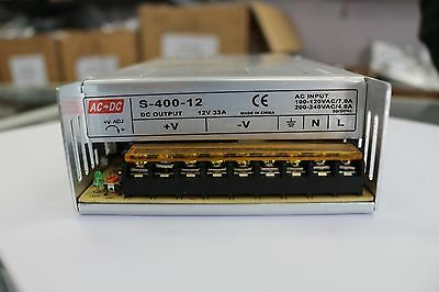S-400-12 Power Supply 12V 33A 400W