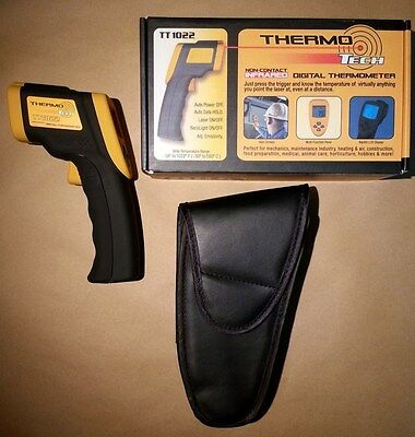 ThermoTech TT1022 Non-Contact Digital Infrared Laser Tempature Thermometer