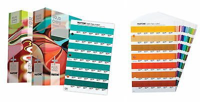 Pantone Solid Chips 2 Book Set GP1606 w/Suppl