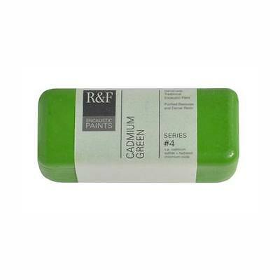 R&F Encaustic 104Ml Cadmium Green Pale