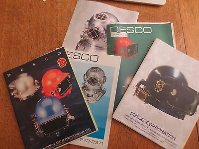 Vintage DESCO (Diving Equipment & Supply Co.) Catalogs, Price Lists & Brochures