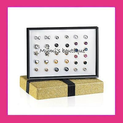 Earrings Avon Aaralyn : 16 pairs of your choice or jewel case box complete
