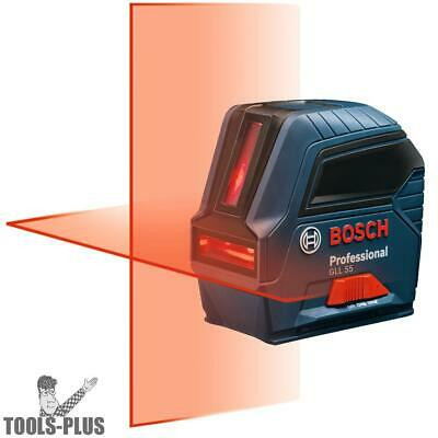 1.5v Self-Leveling Cross-Line Laser Bosch Tools GLL55 New