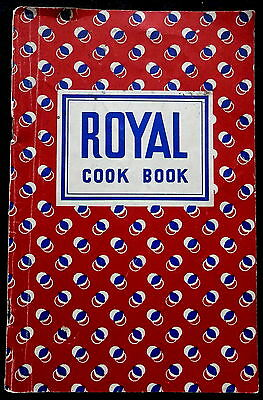 1935 Royal Cook Book    Advertising and Recipes