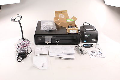 Intuit Quickbooks Point Of Sale Hardware Bundle, Drawer, Reader, Scanner Printer