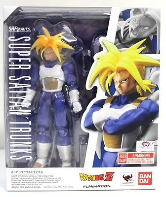 "NEW Bandai S.H. Figuarts Dragon Ball Z Super Saiyan Trunks 6"" Action Figure [A4]"