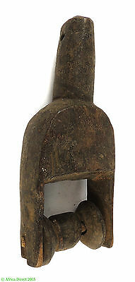 Heddle Pulley  with Spindle Ivory Coast African Art SALE WAS $49.00