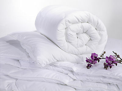 100% Microfibre Soft Luxury Duvets/Quilts 4.5, 10.5, 13.5 and 15 Togs All Sizes