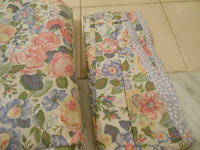 Laura Ashley Quartet Sycamore Shower Curtain New In Package RARE Shabby Chic