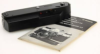 Canon Power Winder A2 for A series 35mm film cameras, instructions #356616