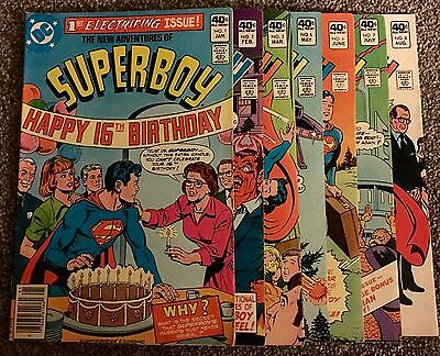 The New Adventures of Superboy (1980) 1-3,5-8