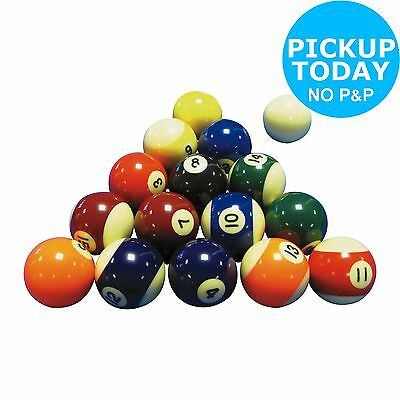 48mm Spots and Stripes Pool Balls Set -From the Argos Shop on ebay