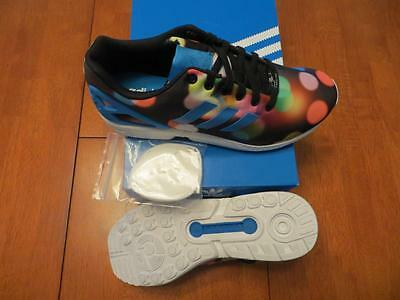 Adidas Zx Flux Running Shoes Men's Sz 11.5 Multi-Color (B23984) Ret $90