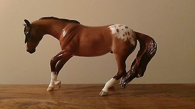 Peter Stone Performance Horse OOAK Chestnut Appaloosa Glossy Like Breyer