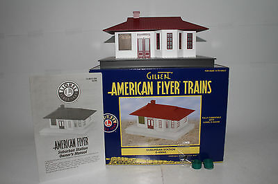 Lionel Gilbert American Flyer #6-49843 Suburban Station, Excellent, Boxed