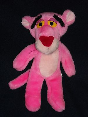 """11"""" Old Pink Panther United Artists Stuffed Animal Plush Toy"""