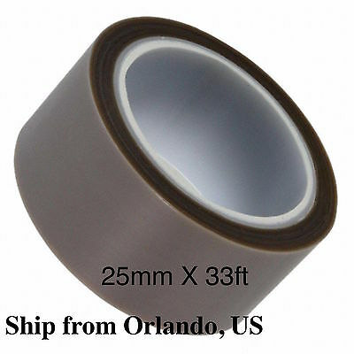 """Dewal Ind 204-3 1/""""x36yrds Skived PTFE Film Tape W//High Temp Silicone Adhesive"""