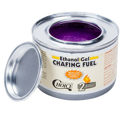 chafing dish fuel 12 pack 2-hour ethanol gel chafing dish fuel