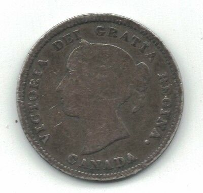 Canada 1886 5 Cents