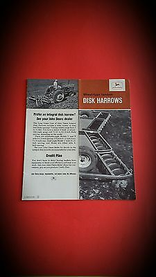 John Deere Disk Harrows Brochure   John Deere Disk harrow   John Deere