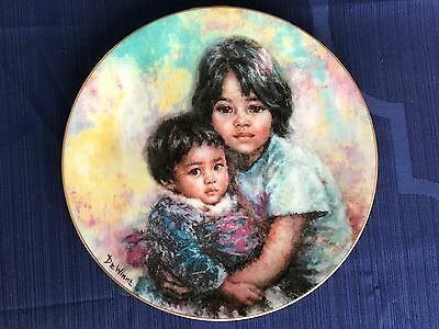 """Royal Doulton  """" MY LITTLE BROTHER""""  from All God's Children Collection - BOXED"""