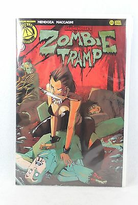 Action Lab Danger Zone Comics ZOMBIE TRAMP #33 Fresh Kill Variant Cover C