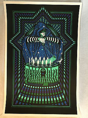 Pearl Jam Worcester Gig Poster 10/16/2013 by Brad Klausen MINT