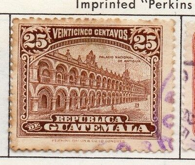 Guatemala 1926 Early Issue Fine Used 25c. 139615
