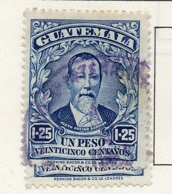 Guatemala 1926 Early Issue Fine Used 1.25P. 139618