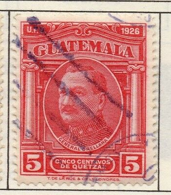 Guatemala 1929 Early Issue Fine Used 5c. 139634
