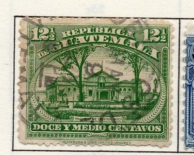 Guatemala 1919 Early Issue Fine Used 12.5c. 139650