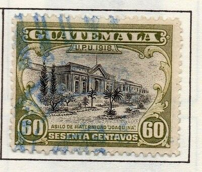 Guatemala 1919 Early Issue Fine Used 60c. 139653