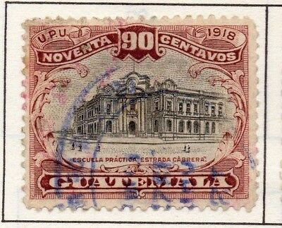 Guatemala 1919 Early Issue Fine Used 90c. 139654