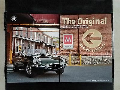 1961 Jaguar E-Type - 8 Page Article - Free Shipping